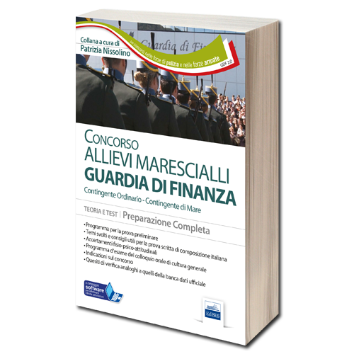 Libro Concorso Allievi Marescialli Guardia di Finanza
