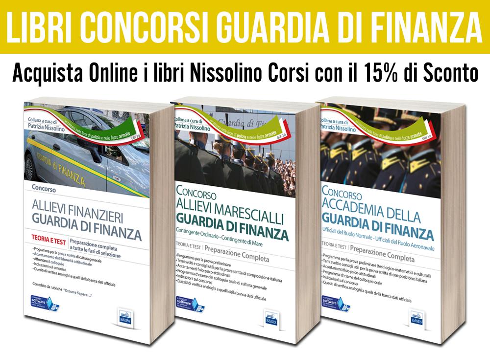 Libri Concorsi Guardia di Finanza