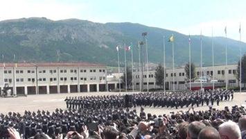 180 allievi vicebrigadieri Guardia di Finanza