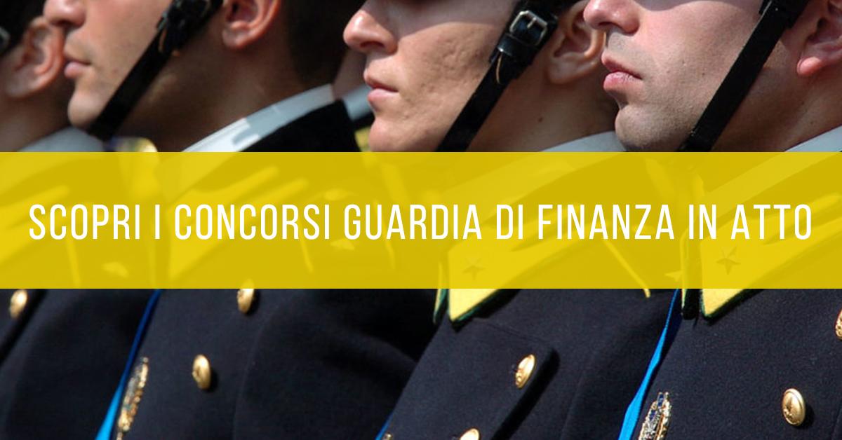 Guardia di Finanza Concorsi in Atto