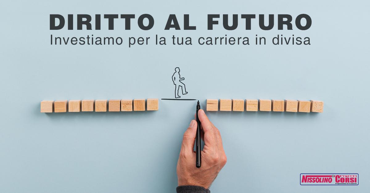 Diritto al Futuro Nissolino Corsi 2020